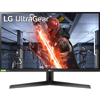 LG 27GN600 UltraGear™ Gaming Monitor 27 Zoll Full-HD Monitor (1 ms Reaktionszeit, 60 Hz)