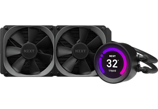 NZXT Kraken Z53 240MM AiO LCD CPU Wasserkühler, Schwarz