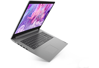 LENOVO IdeaPad 3, Notebook mit 17,3 Zoll Display, AMD Ryzen™ 3 Prozessor, 8 GB RAM, 512 GB SSD, AMD Radeon Grafik, Platinsilber