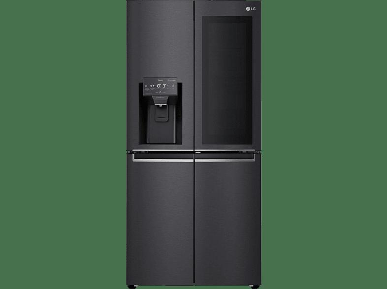 LG GMX844MCBF French Door F, 1787 mm hoch, Steel