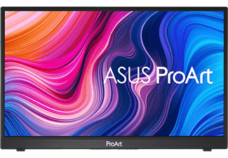 "Monitor - Asus ProArt PA148CTV, 14"" FHD, Táctil, LED, IPS, 5ms, 240Hz, ProArt Palette, USB-C, MicroHDMI, Negro"