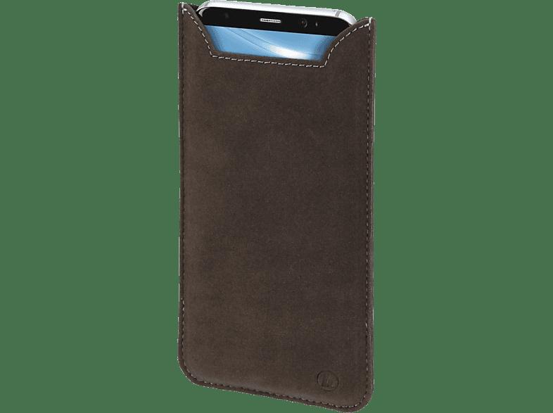 HAMA Soft Fleece XL, Sleeve, Universal, bis zu folgenden Abmessungen: 157 x 82 18 mm, Braun