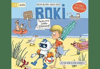 Hüging,Andreas,  Niestrath,Angelika - ROKI: Ferien mit Schatz-Schlamassel  - (CD)