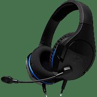 Auriculares gaming - HYPERX CLOUD STINGER CORE BLACK PS4, Para PS4, Negro y azul