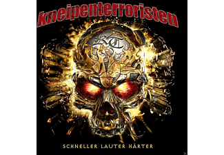 Kneipenterroristen - Schneller Lauter Härter (Vinyl)  - (Vinyl)