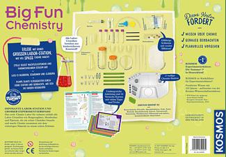 KOSMOS Big Fun Chemistry Experimentierkasten, Mehrfarbig