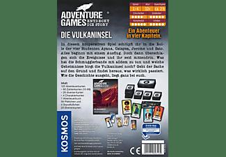 KOSMOS Adventure Games - Die Vulkaninsel Gesellschaftsspiel Mehrfarbig
