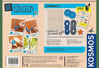 KOSMOS Knoten Abenteuer-Box Bastelset, Mehrfarbig