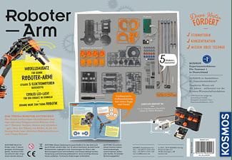KOSMOS 620028 Roboter-Arm Experimentierkasten, Mehrfarbig