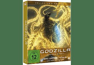 Godzilla: Zerstörer der Welt DVD