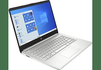 HP 14S-FQ1357NG R5, Notebook mit 14 Zoll Display, AMD Ryzen™ 5 Prozessor, 16 GB RAM, 512 GB SSD, AMD Radeon Graphics, Silber