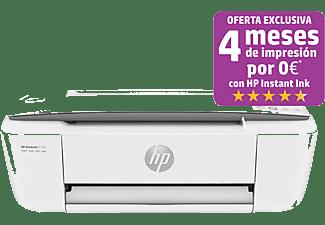 Impresora multifunción - HP Deskjet 3750,  Color,15 ppm, Wifi, USB, Compatible con HP Instant Ink