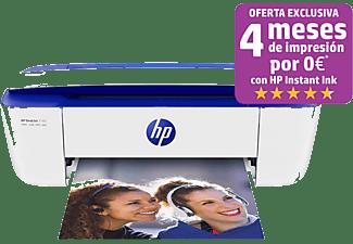 Impresora multifunción - HP DeskJet 3760, Inyección de tinta, Color, 8/5,5ppm, WiFi, Azul