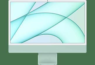 APPLE iMac 2021, All-in-One PC mit 23,5 Zoll Display, Apple M-Series Prozessor, 8 GB RAM, 256 GB SSD, Apple M1 Chip, Grün