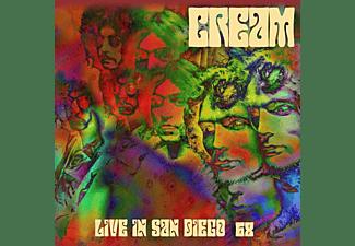 Cream - LIVE IN SAN DIEGO 68 (180G.RED-PURPLE 2LP-SET)  - (Vinyl)