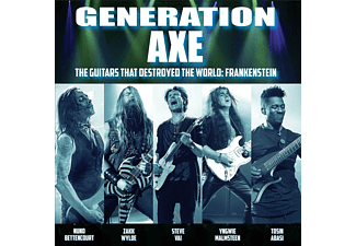 Bettencourt, Abasi, Malmsteen, Wylde, Vai - Generation Axe:Guitars That Destroyed That World  - (LP + Download)