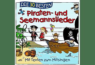 Sommerland,S./Glück,K.& Kita-Frösche,Die - Die 30 Besten Piraten-Und Seemannslieder  - (CD)
