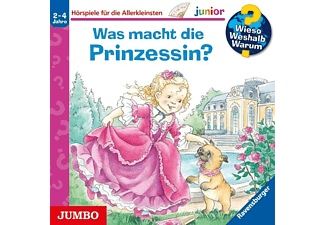 Erne,Andrea/Szesny,Susanne [Illustr.] - Was Macht Die Prinzessin (Folge 19)  - (CD)