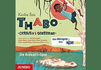 Boie,Kirsten/Gerrits,Angela - Thabo Detektiv & Gentleman (2.).Die Krokodil-Spur  - (CD)