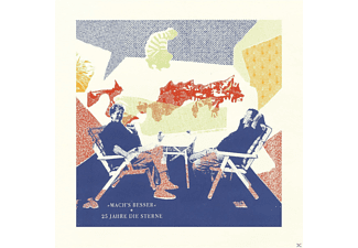 Die Sterne präsentieren - Mach's Besser: 25 Jahre Die Sterne (2LP+CD)  - (LP + Bonus-CD)