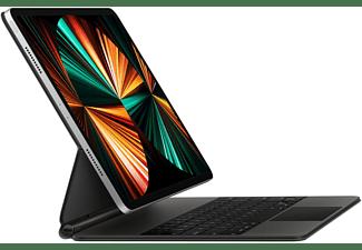 APPLE Magic Keyboard iPad Pro 12.9 Zoll (5. Generation) Tastatur Bookcover für Apple Kunststoff, Black