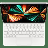 APPLE Magic Keyboard für iPad Pro 11 Zoll (3. Generation) und iPad Air (4. Generation) Tastatur Bookcover für Apple Kunststoff, White