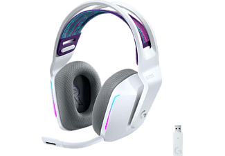 LOGITECH G733 Light Speed, Over-ear Headset Weiß
