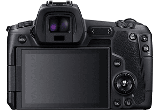 CANON Systemkamera EOS R Gehäuse, 30.3 MP, Vollformat, 4K30p, 8 B/s, 3.1 Zoll Touch LCD, Schwarz