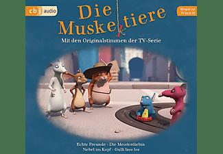 Ute Krause - Die Muskeltiere: Hörspiel zur TV-Serie 02  - (CD)