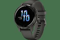 "SmartWatch - Garmin Venu 2S, 1.1"", AMOLED, 10 días, Para Android & iOS, Pulsioxímetro, 5 ATM, GPS, Negro"