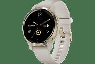 "Reloj deportivo - Garmin Venu 2S, 1.1"", AMOLED, 10 días, Para Android & iOS, Pulsioxímetro, 5 ATM, GPS, Oro"