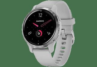 "Reloj deportivo - Garmin Venu 2S, 1.1"", AMOLED, 10 días, Para Android & iOS, Pulsioxímetro, 5 ATM, GPS, Gris"