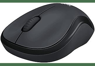 Ratón inalámbrico - Logitech M220 Silent RF, 1000 DPI, Óptico, Ambidiestro, USB, Negro