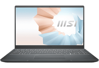 "Portátil - MSI Modern 14 B11SB-008ES, 14"" FHD, Intel® Core™ i7-1165G7, 16 GB RAM, 1 TB SSD, GeForce MX450, W10"