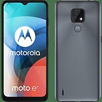 "Móvil - Motorola Moto E7, Gris, 32 GB, 2 GB RAM, 6.5"" HD+, MediaTek Helio G25, 4000 mAh, Android"