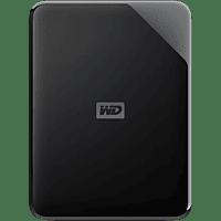 Disco duro externo 4 TB - WD Elements SE, Portátil, HDD, USB 2.0 y 3.0, WD Discovery, Con formato NTFS, Negro