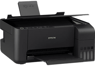 EPSON Multifunktionsdrucker EcoTank ET-2714, 5 S/min Farbe, Wi-Fi, Tinte, Refill-System, Schwarz