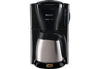 PHILIPS HD7549/20 GAIA Timer Kaffeemaschine Schwarz/Edelstahl