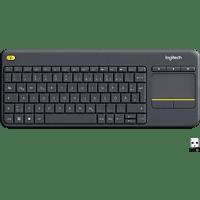 LOGITECH K400 Plus Touch Wireless, Tastatur