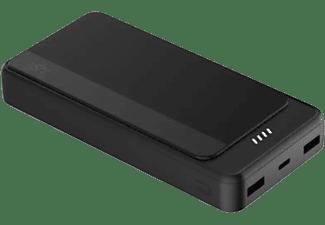 Powerbank - ISY IPP-20000-C-BK Powerbank 20.000 mAh, Micro-USB, USB-C, Negro