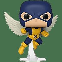 Figura - Funko Marvel 80th First Appearance Angel, 9 cm, Vinilo, Azul
