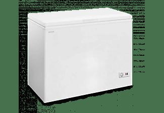 Congelador horizontal - Infiniton CH-303AC, 300 l, Cíclico, 4 estrellas, Dual system, 84.2 cm, Blanco