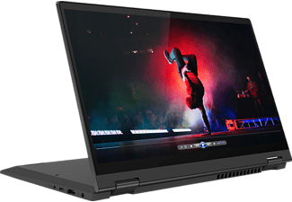 LENOVO IdeaPad Flex 5i, Convertible mit 14 Zoll Display, 16 GB RAM, 512 GB SSD, Iris Xe Grafik, Graphitgrau