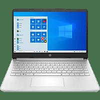 """Portátil - HP 14s-fq0000ns, 14"""" HD, AMD Athlon™ Silver 3050U, 8 GB RAM, 512 GB SSD, AMD Radeon™, W10, Plata"""