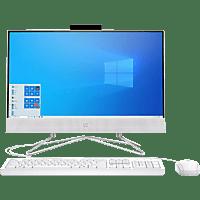 "All in one - HP 22-df0017ns, 21.5"" Full-HD, Intel® Core™ i3-10100T, 8GB, 256GB SSD, UHD Graphics, W10H, Blanco"