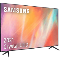"TV LED 75"" - Samsung UE75AU7175UXXC, UHD 4K, Crystal UHD, Smart TV, HDR10+, Tizen, Dolby Digital Plus, Plata"