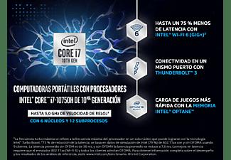 "Portátil gaming - MSI GF63 THIN 10SCSR-835ES, 15.6"", Intel® Core™ i7-10750H, 16 GB RAM, 1 TB, GTX1650Ti, W10"