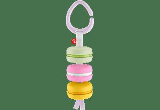 FISHER PRICE Babys erste Macaron, Babyrassel-Aktivitätsspielzeug Babyspielset Mehrfarbig