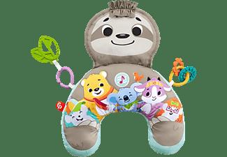 FISHER PRICE Faultier-Spielkissen mit Vibration, Baby-Spielzeug ab 0 M Babyspielkissen Mehrfarbig