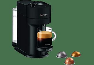 Cafetera de cápsulas - De'Longhi Vertuo Next ENV120.BM, 1500 W, 1.1 l, Con cápsulas monodosis, Negro